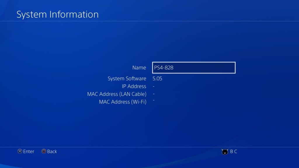 restore ps4 to firmware 5.05
